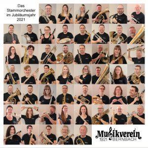 Das Stammorchester im Jubiläumsjahr 2021